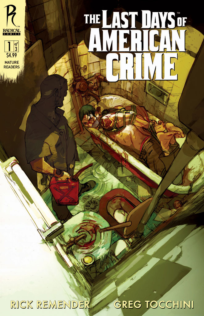 Last Days Of American Crime 1 2nd Printing To Arrive With Issue 2