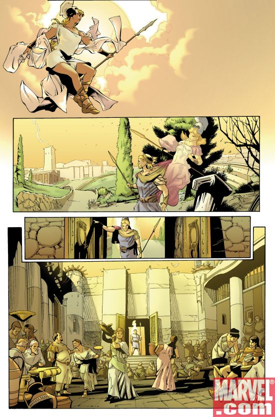 A Ruthless War With the Gods Begins in Marvel Illustrated ...