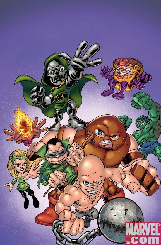 Marvel Announces SUPER HERO SQUAD: HERO UP! One-Shot