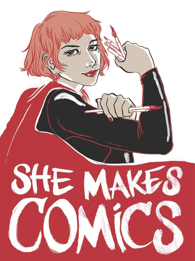 SHE MAKES COMICS Documentary