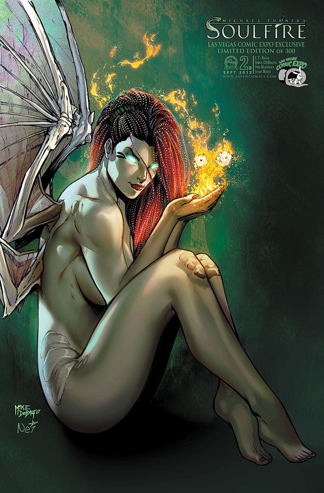 Soulfire by Aspen Comics
