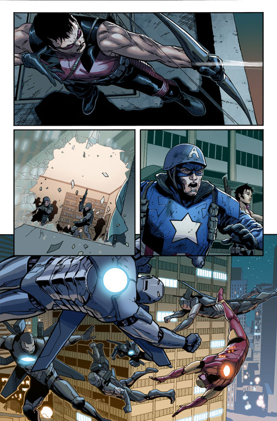 First Look at ULTIMATE COMICS THE ULTIMATES #14