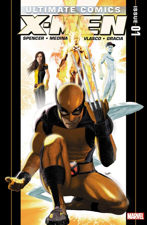 Marvel unveils new ULTIMATE COMICS UNIVERSE REBORN covers