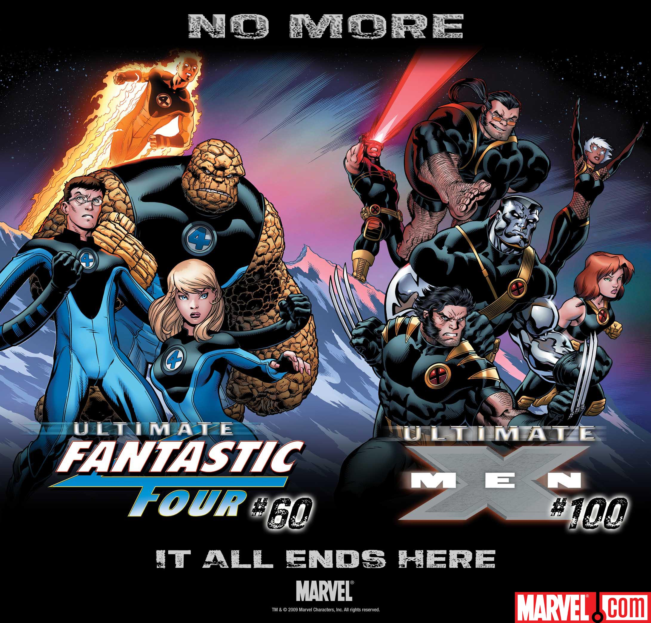 The Ultimate X Men And Ultimate Fantastic Four Are No More