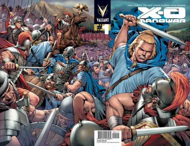 X-O MANOWAR #1 sells out and returns with 2nd printing