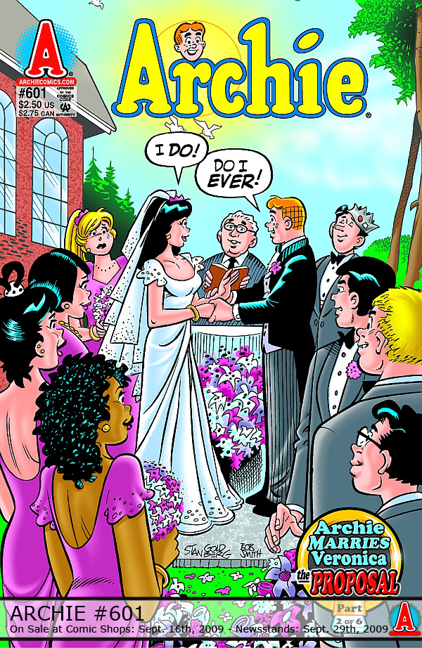 Its Not Just A Proposal Archie Andrews Marries Veronica Lodge