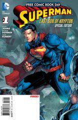 SUPERMAN: THE LAST SON OF KRYPTON #1 FCBD EDITION