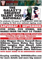 2000 AD launches signing event to celebrate 35th anniversary