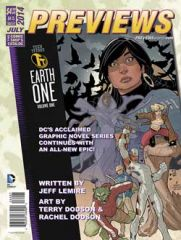 Preview the July 2014 PREVIEWS Catalog