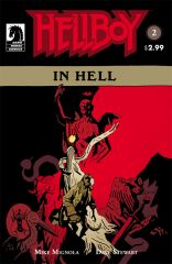 HELLBOY IN HELL #2 earns second printing