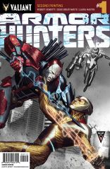 ARMOR HUNTERS #1 (of 4) (SECOND PRINTING VARIANT)