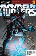 ARMOR HUNTERS #3 (of 4) SECOND PRINTING