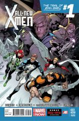 ALL-NEW X-MEN 22.NOW 2ND PRINTING VARIANT