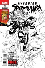 AVENGING SPIDER-MAN #9 SECOND PRINTING VARIANT
