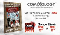 ComiXology and Skybound give away WALKING DEAD at C2E2 2012