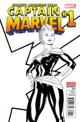 CAPTAIN MARVEL #1 SECOND PRINTING VARIANT