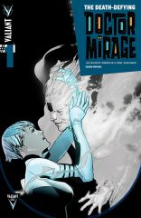 THE DEATH-DEFYING DR. MIRAGE #1 (of 5) SECOND PRINTING