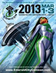 Dark Horse Emerald City Comicon 2013 signing and events schedule