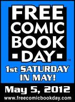 Free Comic Book Day 2012 Gold Comic Books