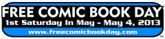 Free Comic Book Day 2013 Gold Sponsor Comic Books