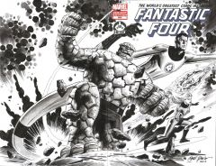 Hero Initiative auctions The Fantastic Four 100 Project covers