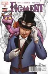 FIGMENT #1 SECOND PRINTING VARIANT