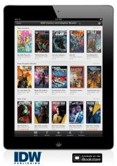 IDW offers single issues in Apple's iBookstore