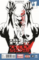 IRON FIST: THE LIVING WEAPON #1 SECOND PRINTING VARIANT