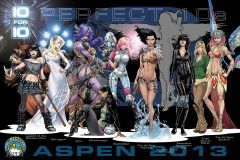 Aspen Comics kicks off 10 FOR 10 initiative at Amazing Arizona Con