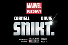 The Future of Marvel NOW! Is SNIKT.