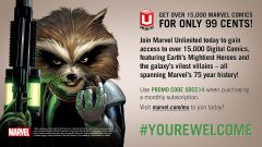 Marvel Unlimited only 99 cents for the first month