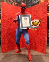 Fans celebrate Spider-Man's birthday at NYCC 2012