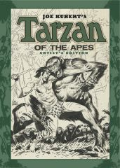 Joe Kubert's TARZAN OF THE APES gets the Artist's Edition treatment