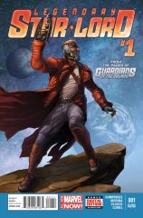 THE LEGENDARY STAR-LORD #1 SECOND PRINTING VARIANT