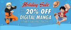 Entire VIZ Digital Manga Library goes on sale