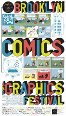 Fantagraphics at the 2012 Brooklyn Comics And Graphics Festival