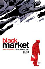 BLACK MARKET #1 Second Printing Cover by Victor Santos