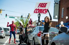 Estimated 1.2 million people attended Free Comic Book Day 2013
