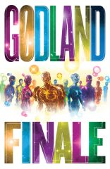 Image Comics' GODLAND to end with galactic-sized final issue