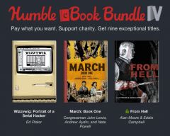 Top Shelf and Humble Bundle offer Humble eBook Bundle IV