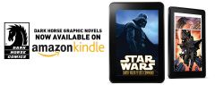 Dark Horse titles now available in Kindle Store