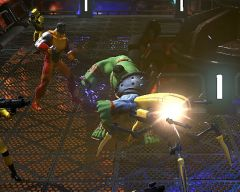 Play Marvel Heroes for the first time at SDCC 2012