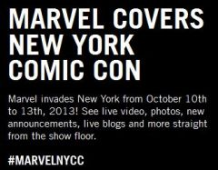 Marvel is LIVE! at New York Comic Con 2013
