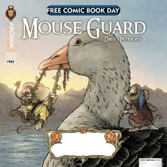 MOUSE GUARD/RUST 2013 FREE COMIC BOOK DAY FLIP BOOK