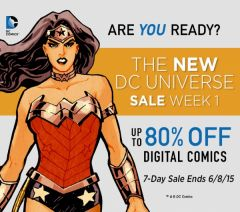 DC Comics announces post-Convergence digital sale