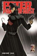Issue #8 of PETER PANZERFAUST gets reprinted
