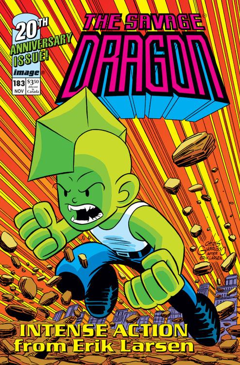 Savage Dragon #183 (Cover B Chris Giarrusso)