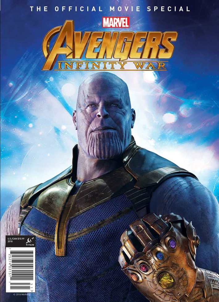 Avengers Infinity War Diamond Exclusive Cover Titan announces an all-access guide to Marvel Studios' AVENGERS: INFINITY WAR