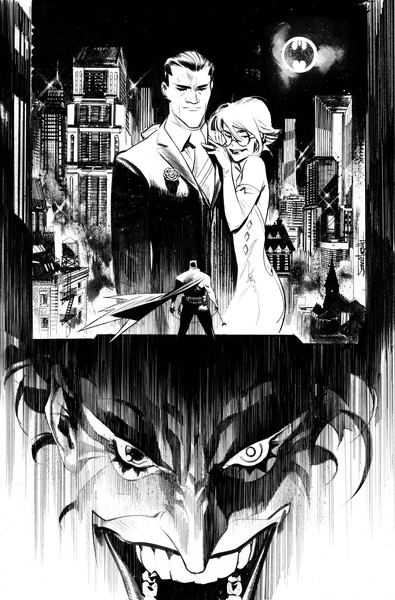 the joker must save gotham city in batman  white knight