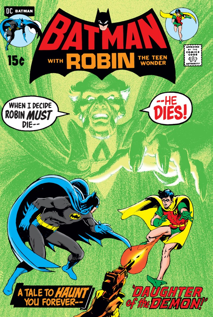 neal adams returns to dc comics for batman vs  ra u0026 39 s al ghul